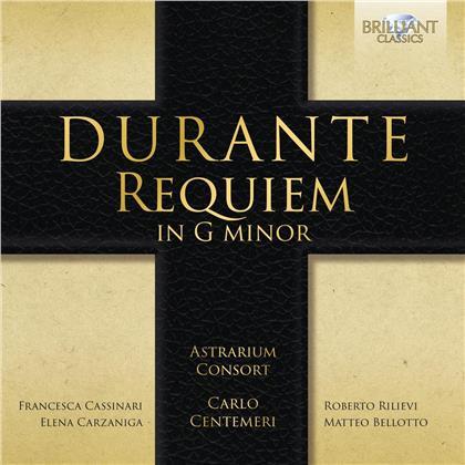 Astarium Consort, Carlo Cementeri, Francesca Cassinari & Francesco Durante (1684-1755) - Requiem In G Minor