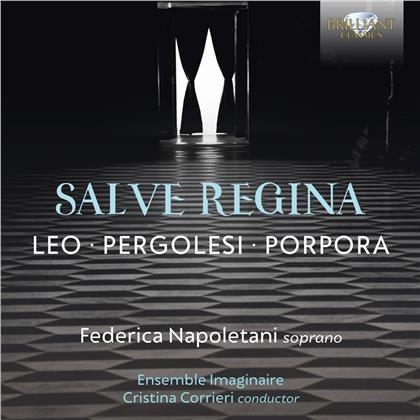 Federica Napoletani, Ensemble Imaginaire, Cristina Corrieri, Giovanni Battista Pergolesi (1710-1736) & Leonardo Leo (1694-1744) - Salve Regina