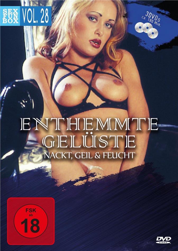 Enthemmte Gelüste - Sex & Fun-Box - Vol. 28 (3 DVDs)
