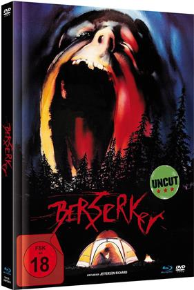 Berserker (1987) (Limited Edition, Mediabook, Uncut, Blu-ray + DVD)