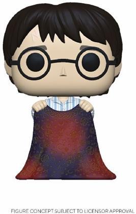 Funko POP! Vinyl - Harry Potter Figur Harry w/Invisibility Cloak 9 cm