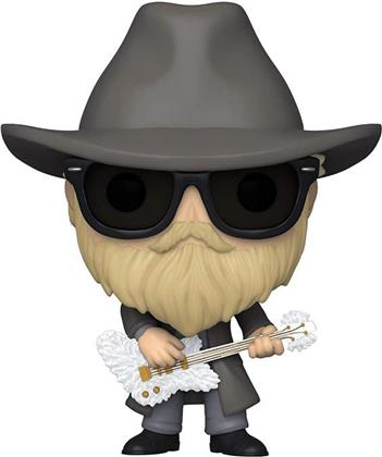 Funko Pop! Rocks: - Zz Top - Dusty Hill (Flocked)