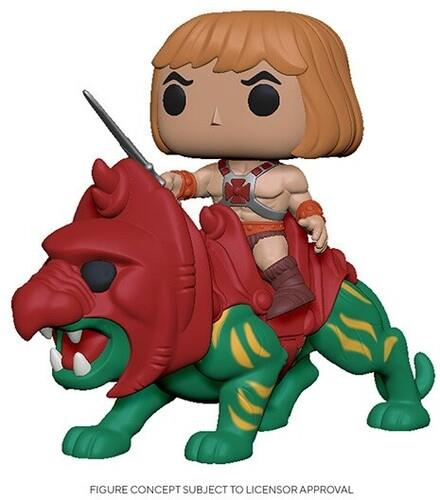Funko Pop! Rides: - Masters Of The Universe - He-Man On Battle Cat