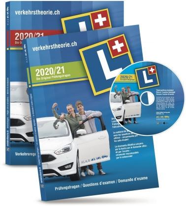 verkehrstheorie.ch 2020/21 [Kat. A+B] Set (D/F/I) Software+Arbeitsheft