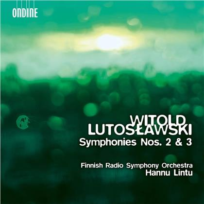 Witold Lutoslawski (1913-1994), Hannu Lintu & Finnish Radio Symphony Orchestra - Symphonies Nos. 2 & 3 (SACD)