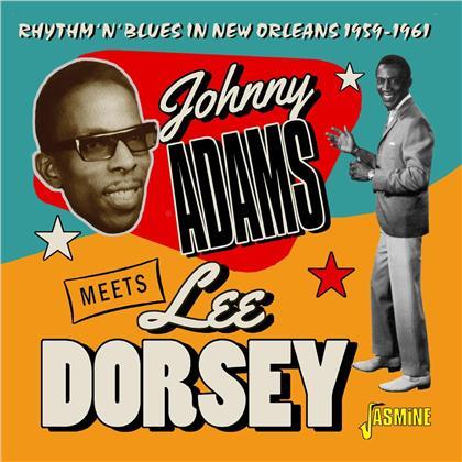 Johnny Adams & Lee Dorsey - Rhythm 'N' Blues In New Orleans 1959 - 1961 (2 CDs)
