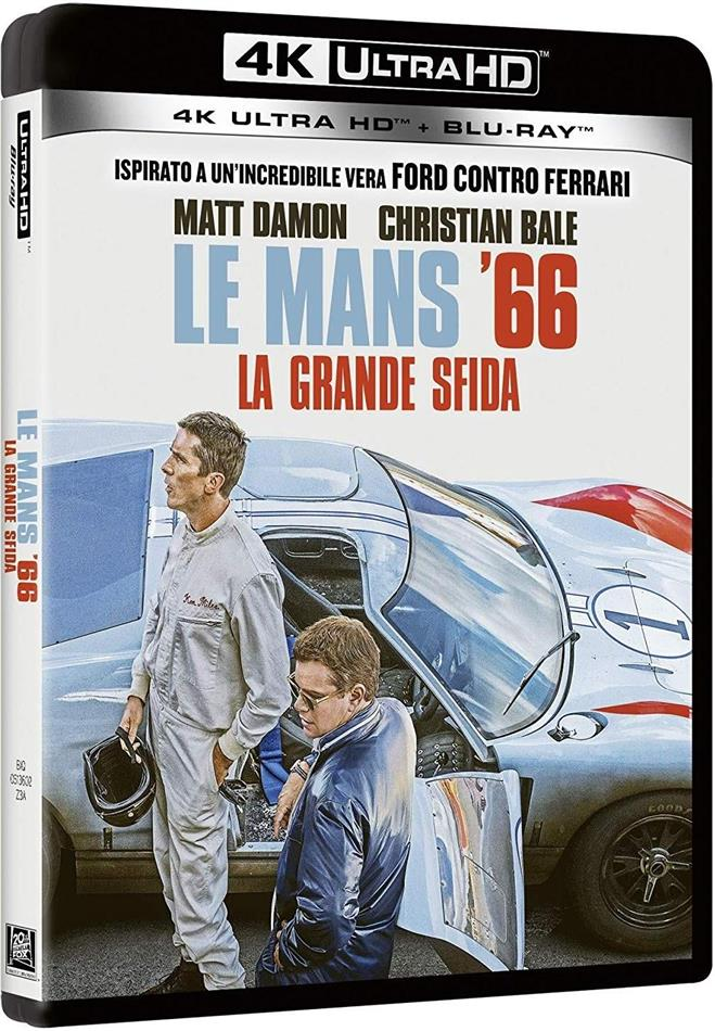 Le Mans '66 - La grande sfida (2019) (4K Ultra HD + Blu-ray)