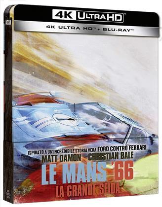 Le Mans '66 - La grande sfida (2019) (Steelbook, 4K Ultra HD + Blu-ray)
