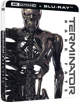 Terminator 6 - Destino oscuro (2019) (Steelbook, 4K Ultra HD + Blu-ray)