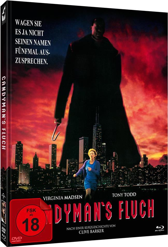 Candyman's Fluch (1992) (Cover B, Edizione Limitata, Mediabook, Blu-ray + DVD)