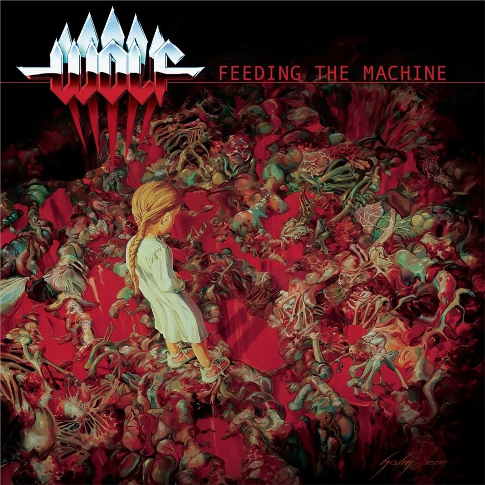 Wolf - Feeding The Machine (LP + CD)