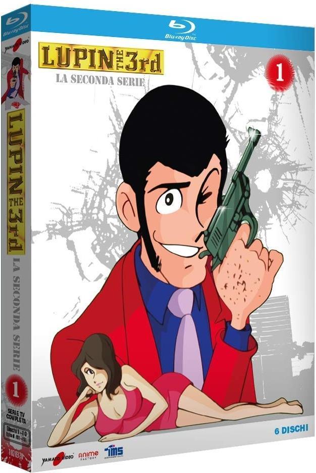 Lupin 3 - La seconda Serie - Vol. 1 (Limited Edition, 6 Blu-rays)