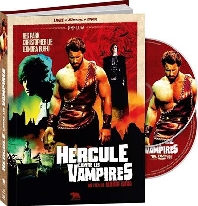 Hercule contre les vampires (1961) (Collector's Edition, Blu-ray + DVD + Libro)