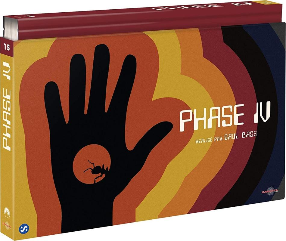 Phase IV (1973) (Ultra Collector's Edition, Blu-ray + DVD + Buch)