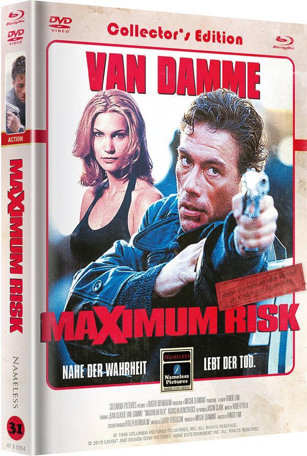 Maximum Risk (Cover B, Limited Edition, Mediabook, Blu-ray + DVD)