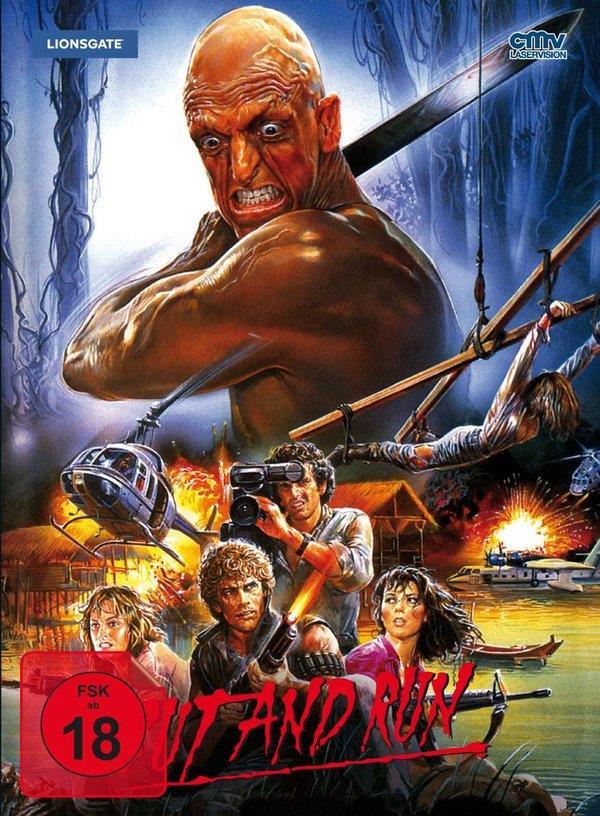 Cut and Run (1985) (Mediabook, Blu-ray + DVD)