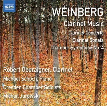 Mieczyslaw Weinberg (1919-1996), Michail Jurowski, Robert Oberaigner, Michael Schöch & Dresden Chamber Soloists - Clarinet Concerto