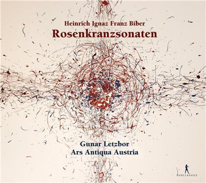 Heinrich Ignaz Franz von Biber (1644-1704), Gunar Letzbor & Ars Antiqua Austria - Rosary Sonatas - Rosenkranzsonaten (2 CDs)