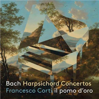 Johann Sebastian Bach (1685-1750), Francesco Corti & Il Pomo d'Oro - Harpsichord Concertos BWV1052, 1055, 1058 (Digipack)