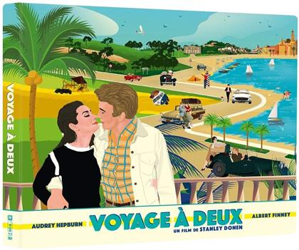 Voyage à deux (1967) (Limited Edition, Blu-ray + DVD + Buch)