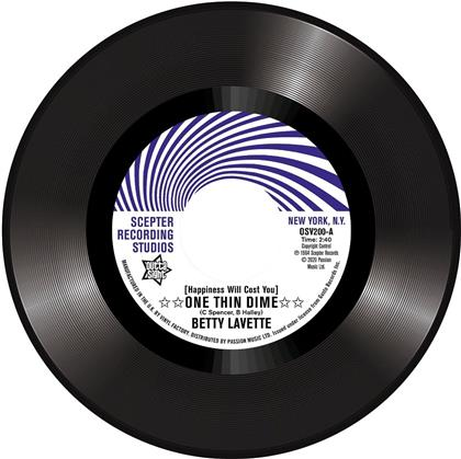 "Betty Lavette & Nella Doods - (Happiness Will Cost You) One Thin Dime/First Date (7"" Single)"