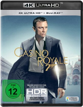 James Bond: Casino Royale (2006) (4K Ultra HD + Blu-ray)