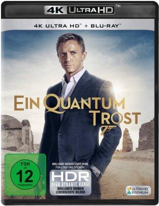 James Bond: Ein Quantum Trost (2008) (4K Ultra HD + Blu-ray)