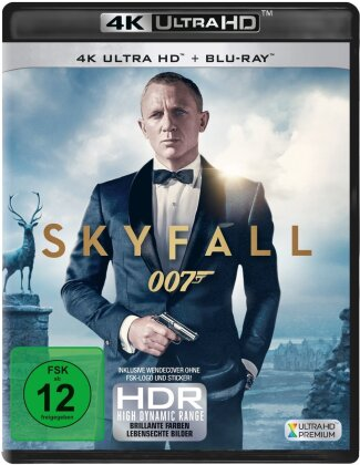 James Bond: Skyfall (2012) (4K Ultra HD + Blu-ray)