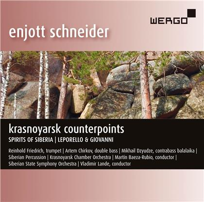 Enjott Schneider, Vladimir Lande & Siberian State Symphony Orchestra - Krasnoyarsk Counterpoints