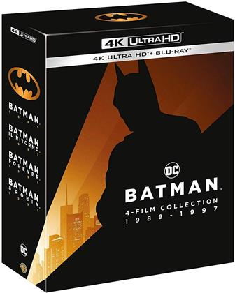 Batman 1989 - 1997 - 4-Film Collection (4 4K Ultra HDs + 4 Blu-rays)