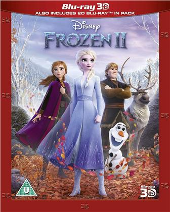 Frozen 2 (2019) (Blu-ray 3D + Blu-ray)