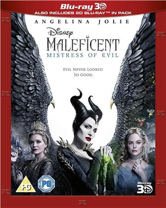 Maleficent 2 (2019) (Blu-ray 3D + Blu-ray)