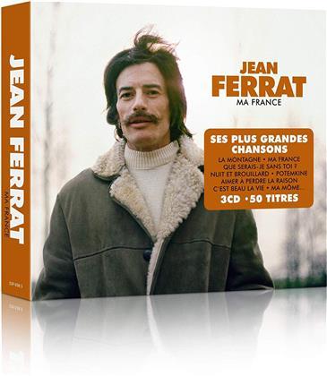 Jean Ferrat - Ma France - Ses Plus Grandes Chansons (3 CDs)
