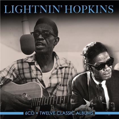 Lightnin' Hopkins - Twelve Classic Albums (6 CDs)