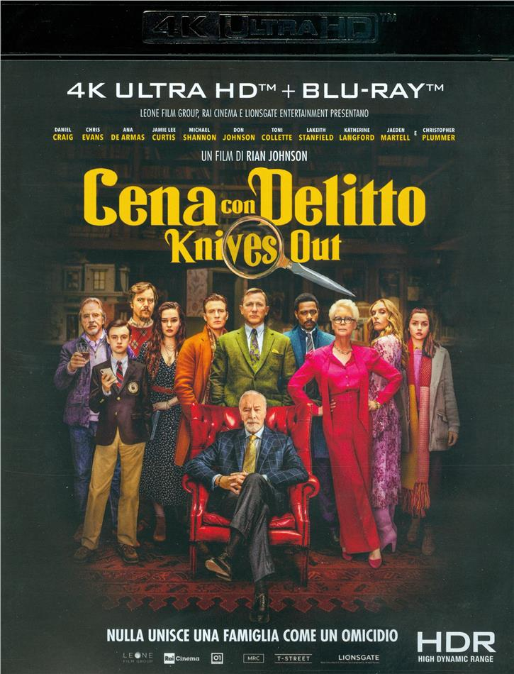 Cena con delitto - Knives Out (2019) (4K Ultra HD + Blu-ray)