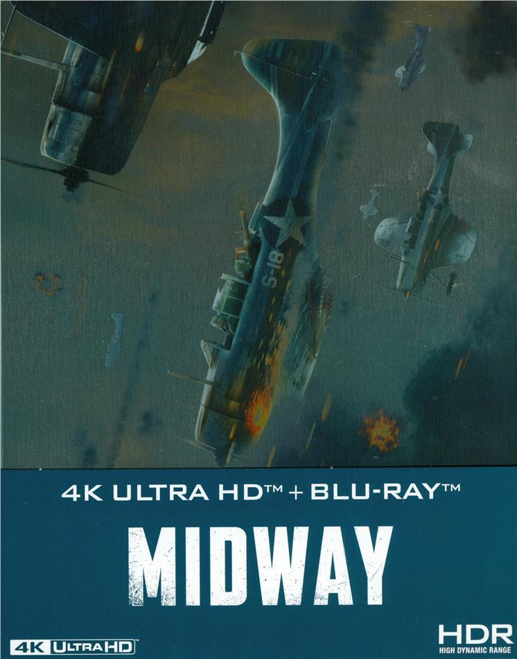 Midway (2019) (Steelbook, 4K Ultra HD + Blu-ray)