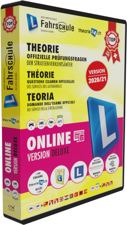 CH-Fahrschule Deluxe Box Online & Buch 2020/21