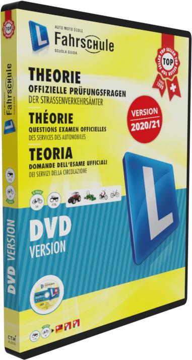 CH-Fahrschule DVD Kat. M - F/G 2020/21