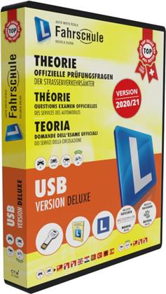 CH-Fahrschule Deluxe Box USB & Buch 2020/21
