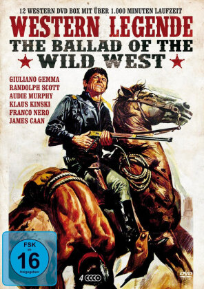 Western Legende - The Ballad of Wild West (4 DVDs)