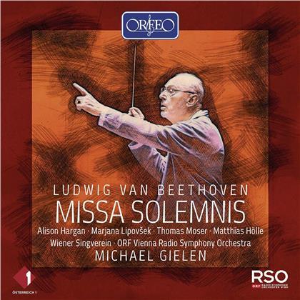 Ludwig van Beethoven (1770-1827), Michael Gielen, Alison Hargan, Marjana Lipovšek & ORF Vienna Radio Symphony Orchestra - Missa Solemnis