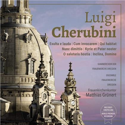 Luigi Cherubini (1760-1842), Matthias Grünert, Sibylla Rubens, Britta Schwarz & Kammerchor der Frauenkirche Dresden - Luigi Cherubini Live recording at Frauenkirche Dresden