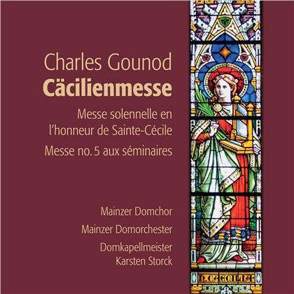 Charles François Gounod (1818-1893), Karsten Storck, Sabine Götz & Mainzer Domchor - Cäcilienmesse - St Cecilia Mass