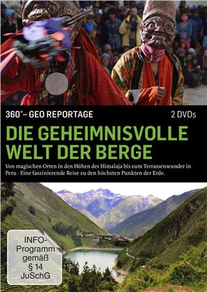 Die geheimnisvolle Welt der Berge - 360° GEO Reportage (2 DVDs)
