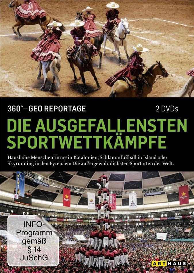 Die ausgefallensten Sportwettkämpfe - 360° GEO Reportage (Arthaus, 2 DVDs)