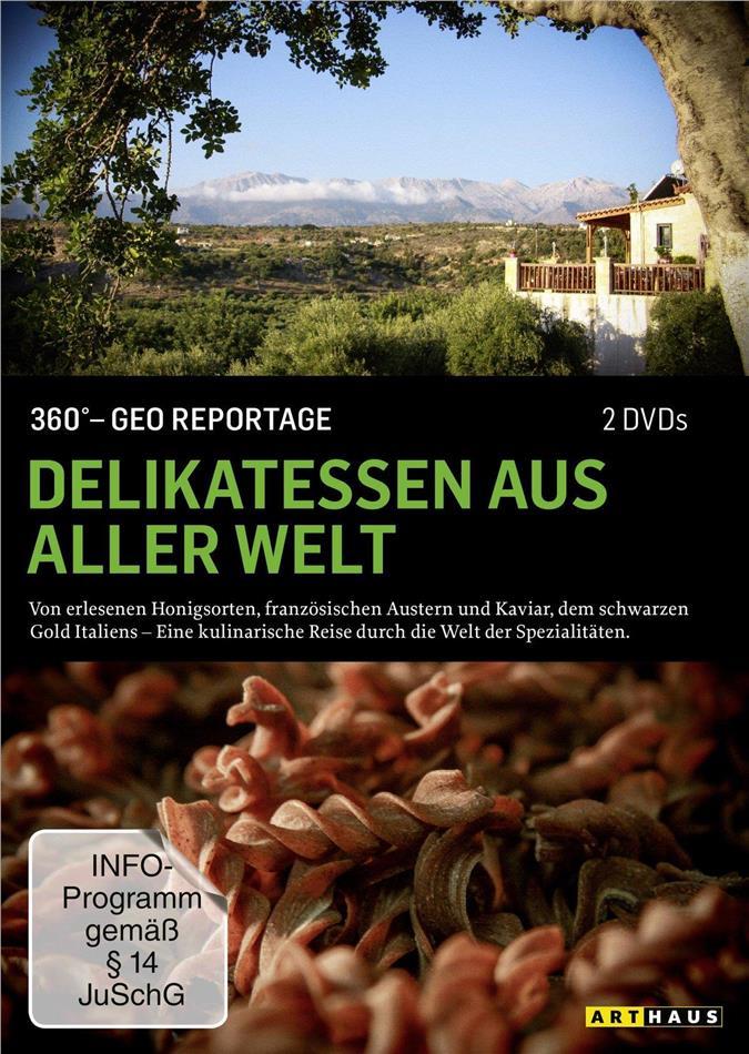 Delikatessen aus aller Welt - 360° GEO Reportage (Arthaus, 2 DVDs)