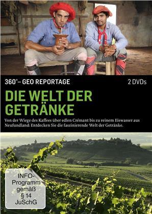 Die Welt der Getränke - 360° GEO Reportage (2 DVDs)