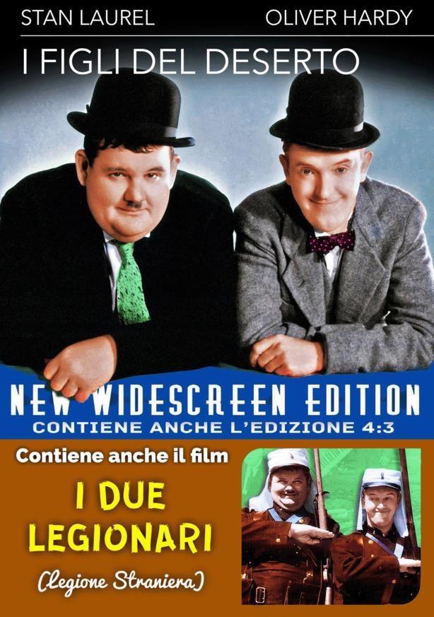 Stanlio & Ollio - I figli del deserto (New Widescreen Edition, n/b)