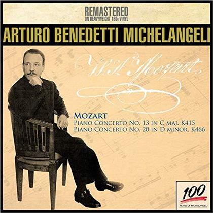 Wolfgang Amadeus Mozart (1756-1791) & Arturo Benedetti Michelangeli - Piano Concerto N.13 K415, N. 20 K466 (Remastered, LP)