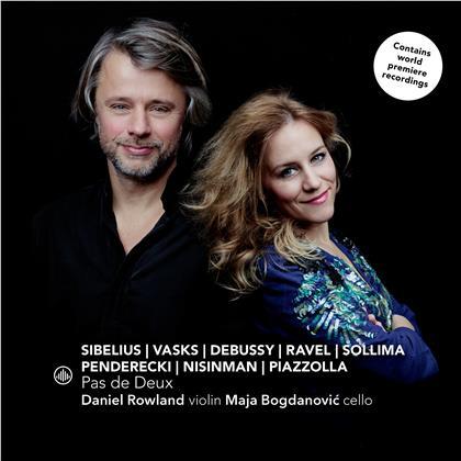 Krzysztof Penderecki (*1933), Marcelo Nisinman (*1970), Jean Sibelius (1865-1957), Maurice Ravel (1875-1937), Claude Debussy (1862-1918), … - Pas De Deux